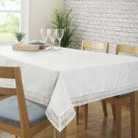 Karina csipkés asztalterítő