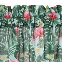 botanic-rovid-fenyatereszto-fuggony-rozsaszin-feher-30-x-150-cm-flamingos-alagutas-bujtatos-akasztas