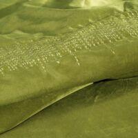 Alessia bársony ágytakaró Olívazöld 220 x 240 cm - HS351118