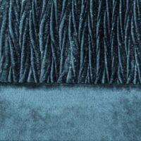 Evelyne bársony sötétítő függöny Sötétkék 140x250 cm