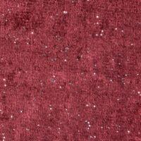 Elizia bársony sötétítő függöny Burgundi vörös 140 x 250 cm - HS354879