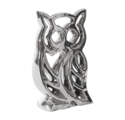 Sowa ezüst dekoráció