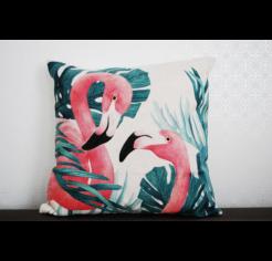 Flamingos 01 díszpárna huzat
