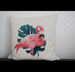 Flamingos 02 díszpárna huzat