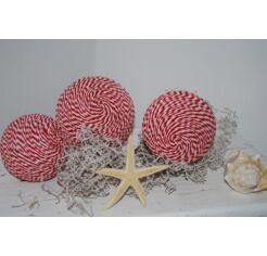 Kézműves termék - 3 db dekorációs golyó