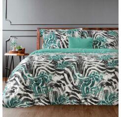 Zebra nyomtatott mintás ágyneműhuzat