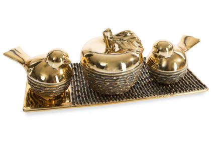 Blair-arany-madaras-almas-dekorativ-tál