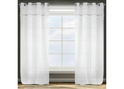 Denise díszes fényáteresztő függöny