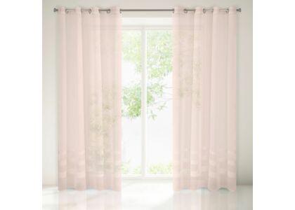 Efil fényáteresztő függöny Rózsaszín 140 x 250 cm - HS361837