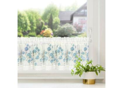 Pola vitrázs függöny Fehér / kék 30 x 150 cm - HS372421