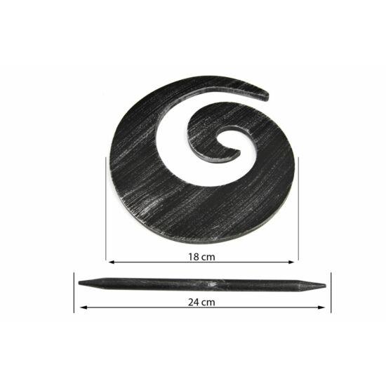 03-fuggonytu-fekete-24-cm