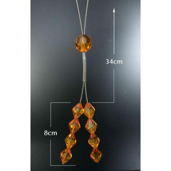 12 damilos függönyelkötő Narancssárga  - HS26747