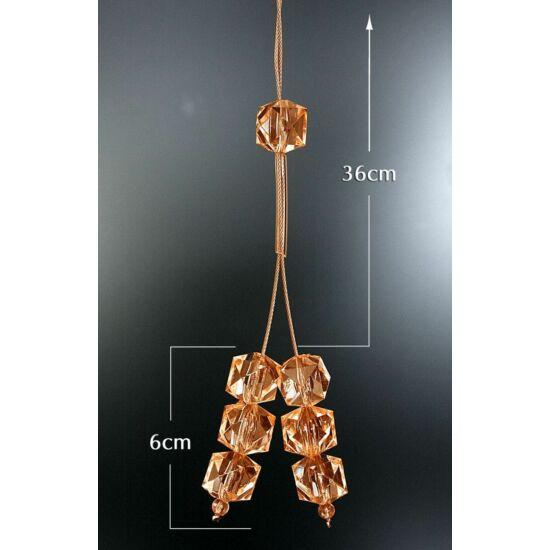 9-zsinoros-fuggonyelkoto-muanyag-kristalyokkal-narancssarga-42-cm