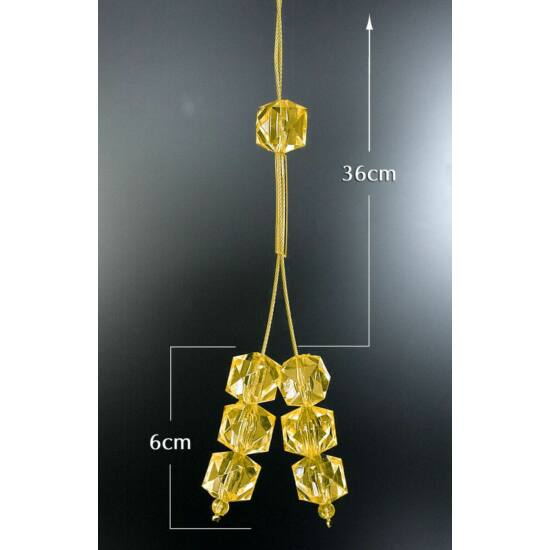 9-zsinoros-fuggonyelkoto-muanyag-kristalyokkal-sarga-42-cm