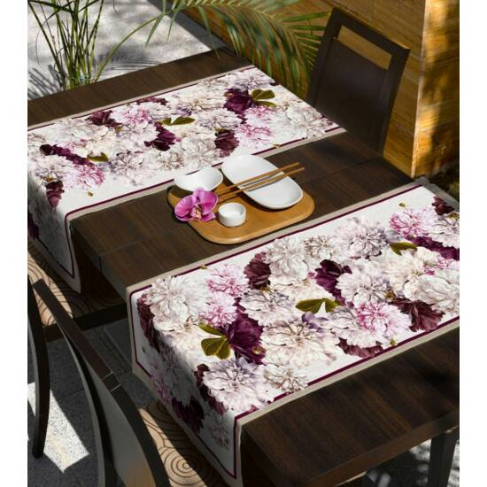 Flower foltmentes asztalterítő
