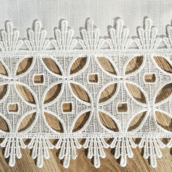 Mariel csipkés asztalterítő Fehér 40 x 140 cm - HS326186