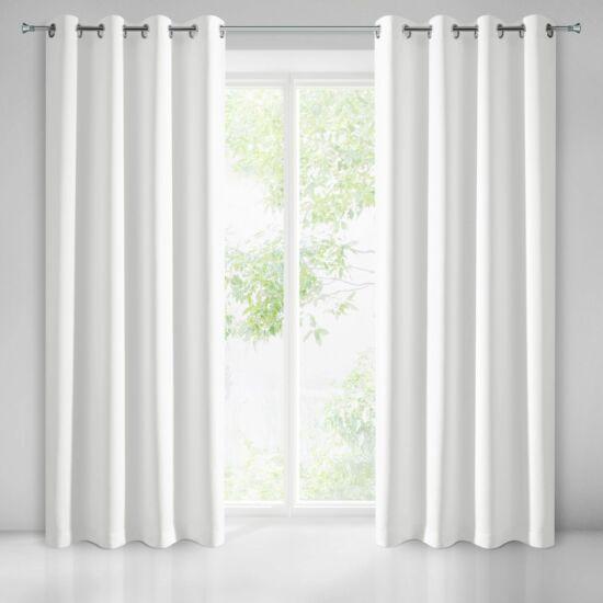 Logan sötétítő függöny Fehér 135 x 250 cm - HS350432