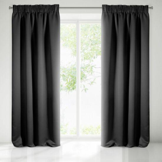 Parisa sötétítő függöny Fekete 135 x 270 cm - HS351244