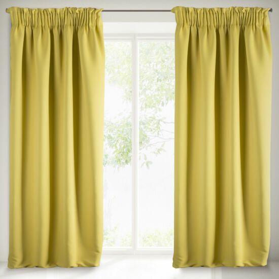 Parisa sötétítő függöny Mustársárga 135 x 270 cm - HS351250