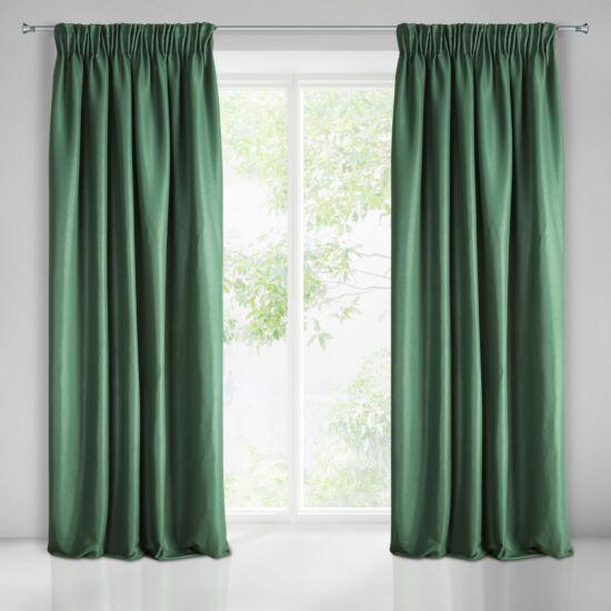 Aggie egyszínű sötétítő függöny Zöld 140 x 270 cm - HS354130