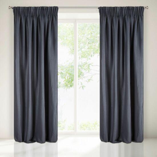 Aggie egyszínű sötétítő függöny Sötétkék 140 x 270 cm - HS354131