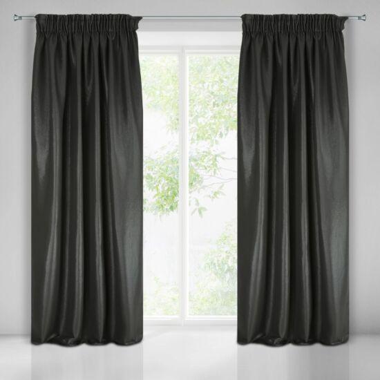 Aggie egyszínű sötétítő függöny Fekete 140x270 cm