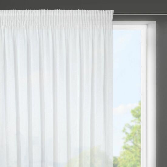 Viola géz fényáteresztő függöny Fehér 300 x 145 cm - HS367879