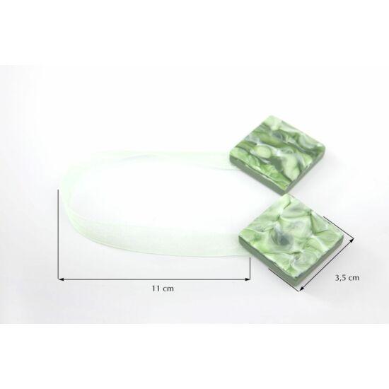 Különleges függöny elkötő mágnes 1 Zöld  - HS50508
