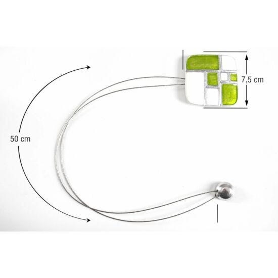 fem-fuggony-elkoto-magnes-feher-zold-48-cm
