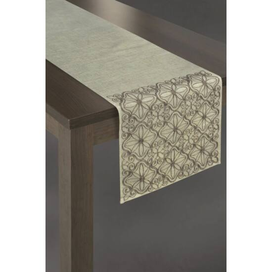 tutu-himzett-asztalterito-natur-barna-40-x-140-cm-95214