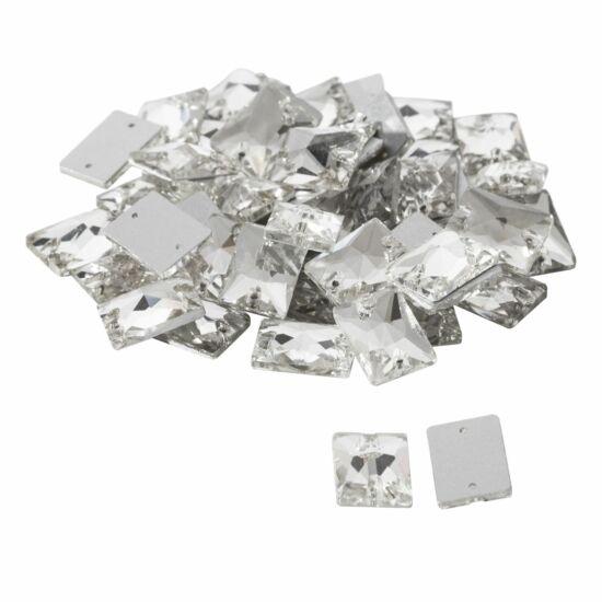 Négyszögletű varrható műanyag kő