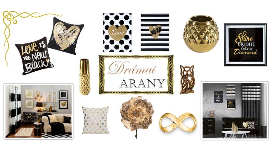Drámai arany  csomag 10% kedvezménnyel - Home   Style Lakberendezési ... 96f365f4e5