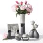 váza,tál, dekor