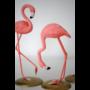 Flamingo dekoráció szett (3 db)