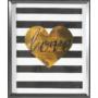 Stripe-kep-fal-dekor
